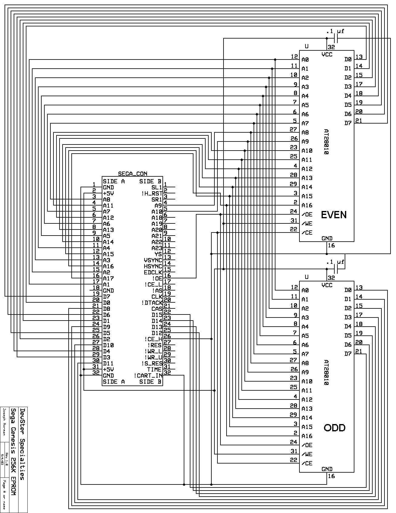 DevSter - Sega Genesis/32X Development Page